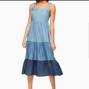 Kate Spade Chambray Patio dress NWT